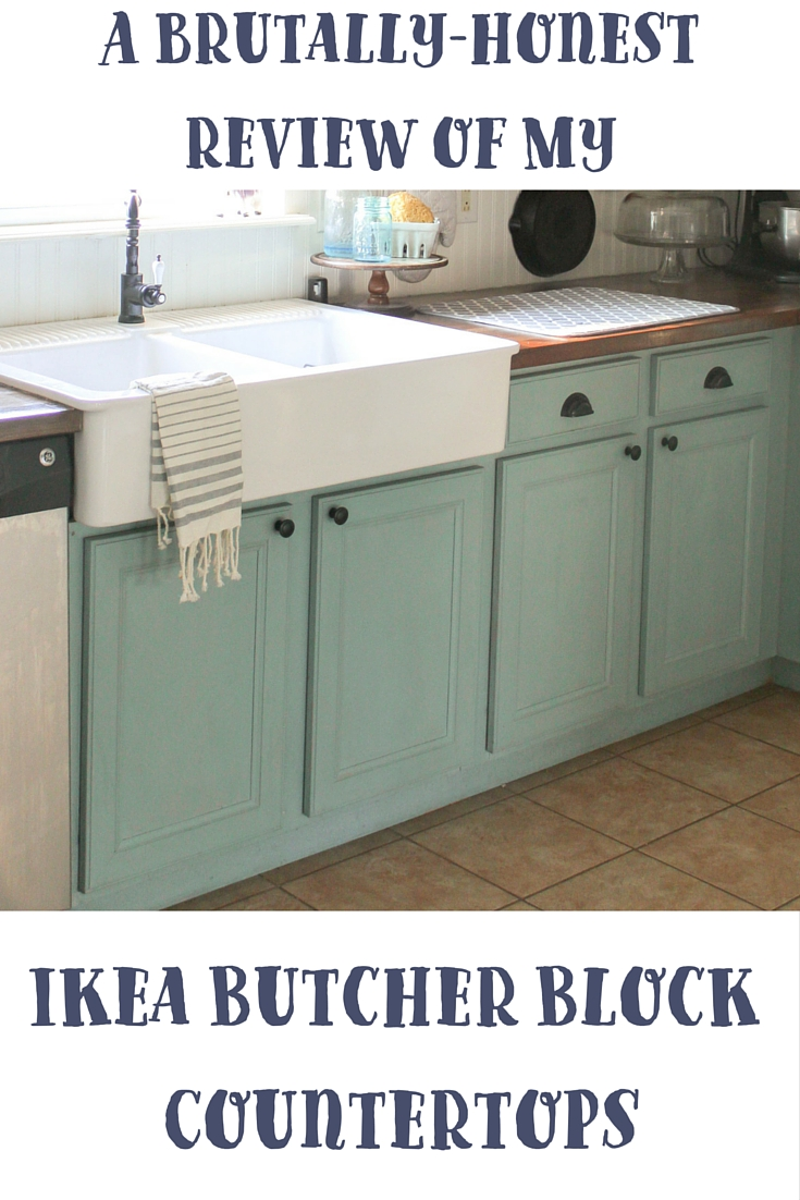 A Brutally Honest Review Of Ikea Butcher Block Countertops Our Storied Home