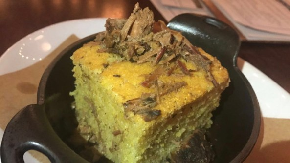 Polenta Cornbread with Meat Drippings