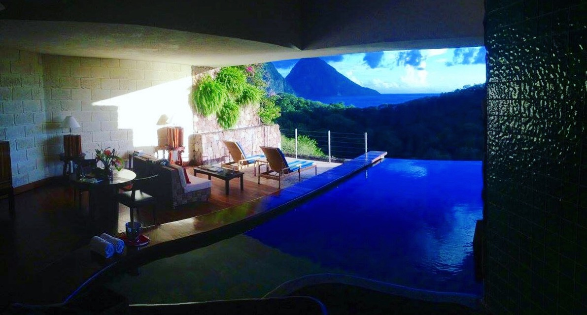 The Most Luxurious Honeymoon at Jade Mountain