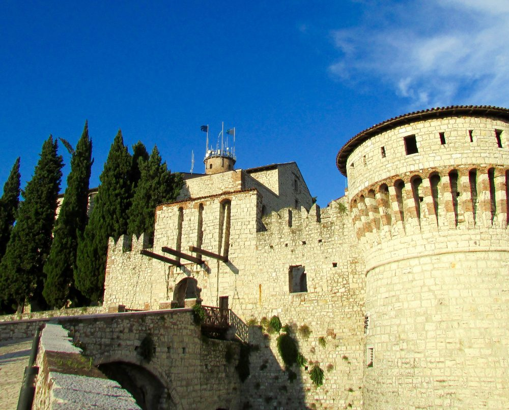 Visiting the Castle of Brescia was one of our favorite things to do in Brescia, Italy!