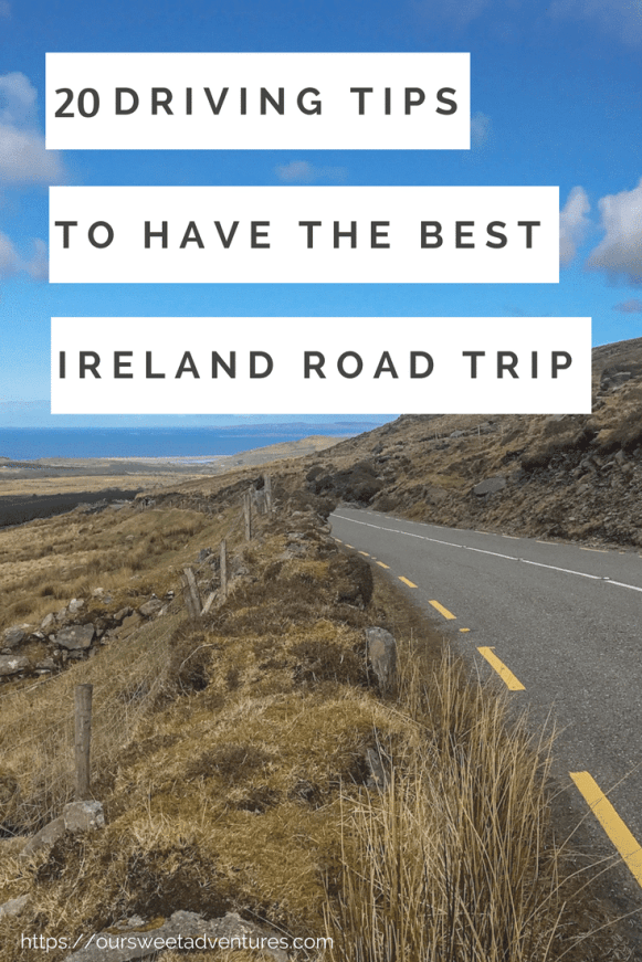 20 driving tips for an ireland road trip
