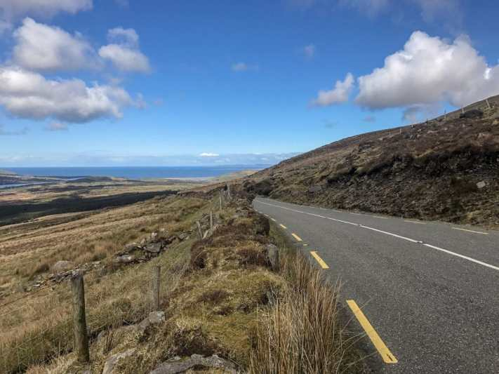 Loving the driving routes on our Ireland road trip