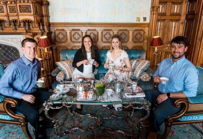 Donega to Ireland - Ashford Castle, afternoon tea