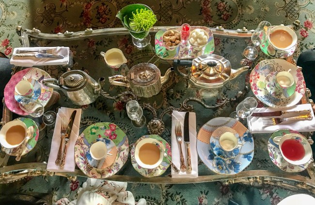 A luxurious afternoon tea experience at Ashford Castle includes unlimited teas from around the world, scrumptious sandwiches, decadent desserts and fresh scones.