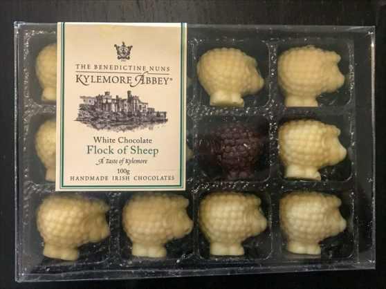 Flock of Sheep - Handmade Chocolates by Kylemore Abbey's Benedictine nuns