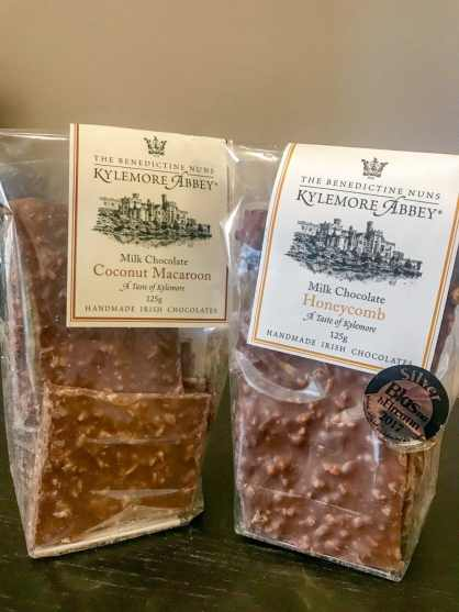 Milk Chocolate Barks - Handmade Chocolates by Kylemore Abbey's Benedictine nuns