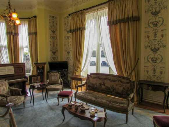 Kylemore Abbey drawing room