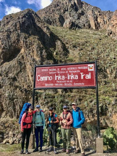 Ready to hike the classic Inca trail!