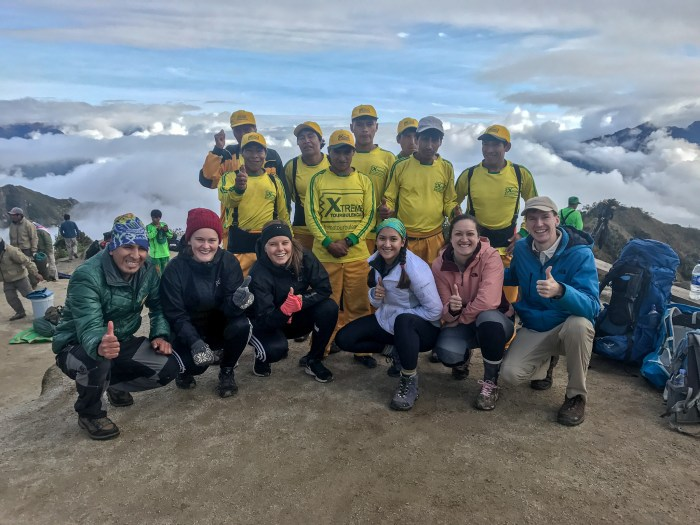 We highly recommend booking the Inca trail with XTreme Tourbulenica!