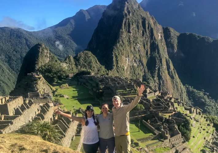 Training for the Inca trail is essential! We trained hard for six months and made it easily to the top.