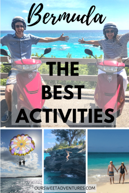 For a small island, there are so many amazing activities to enjoy in Bermuda. From driving a scooter, to parasailing high above turquoise waters, cliff jumping into the ocean and more. There is something for everyone in Bermuda.