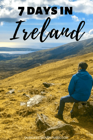 Looking for the perfect 7 days in Ireland itinerary? Look no further, I have the ultimate Ireland itinerary. I have multiple things to do in Ireland including castles, ruins, pubs, Jameson, Game of Thrones, Star Wars and more.