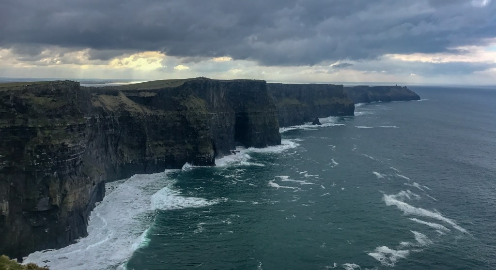 Of course, a 7 days in Ireland itinerary is not complete without a trip to the Cliffs of Moher.