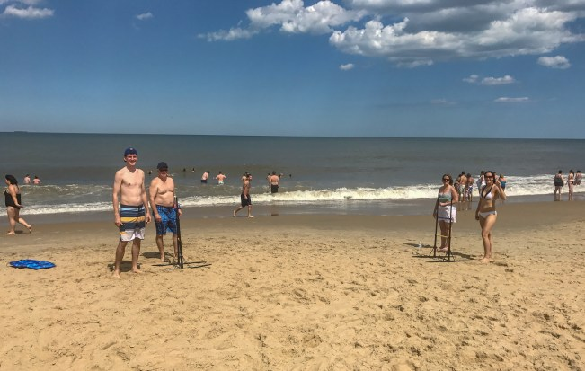 One of the best beach day trips from D.C. is Rehoboth Beach in Delaware. They have a great beach, a long boardwalk and delicious ice cream and beer.