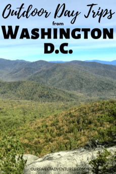 There is so much natural beauty and National Parks surrounding Washington D.C. You can easily visit any within three hours making it a great D.C. day trip. Chasing waterfalls or rock scrambling up mountains - you definitely​ need to escape the city and go outdoors.