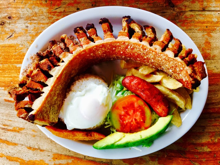 Beastly Bandeja Paisa - hope you are hungry!