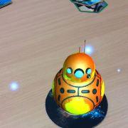 Mimic 7 - Augmented Reality Round Robot