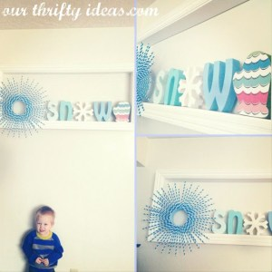 Make a decorative shelf for cheap