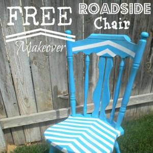 Roadside Chair Makeover