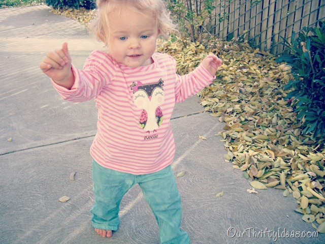 DIY Colored Pants for Toddlers