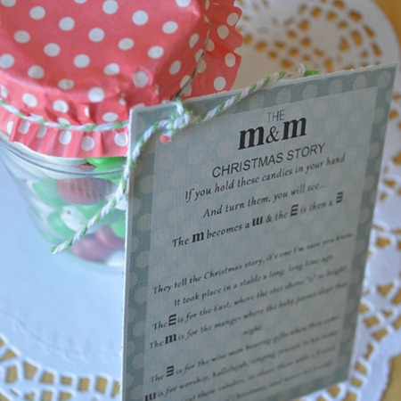 A Gift For Christmas Story.Sweet Neighbor Gift Printable Our Thrifty Ideas