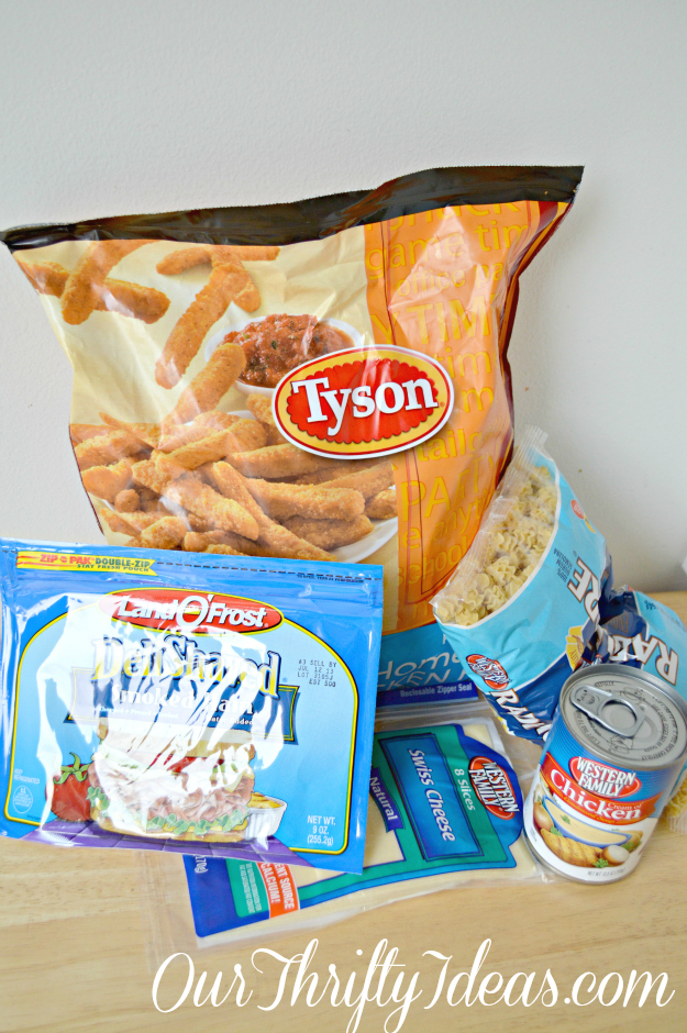 Baked Chicken Cordon Bleu supplies