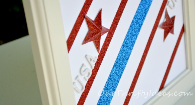 3D Patriotic Framed Art