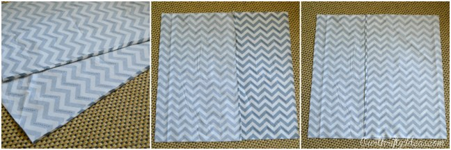 Envelope Pillow Tutorial from OurThriftyIdeas.com