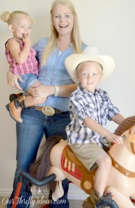 Modest Mommy Monday Cowgirl Edition with OurThriftyIdeas.com