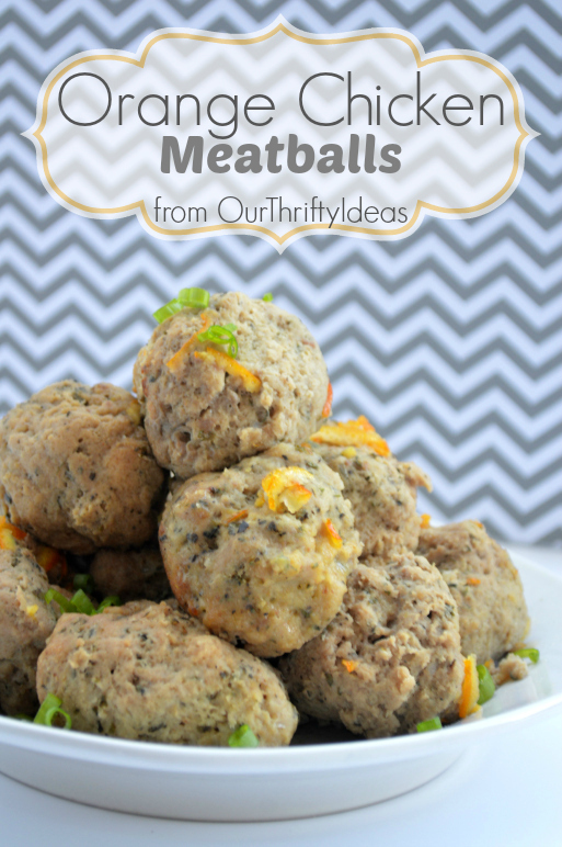#ad Orange Chicken Meatballs made with Tyson Ground Chicken. These are made in the crockpot and taste amazing as a main dish, for a party treat or even on a sub sandwich. #shop