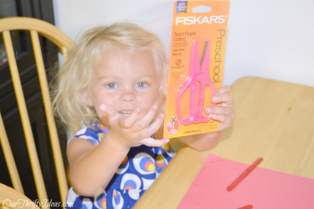 donating school supplies for Champions for Kids with Fiskars