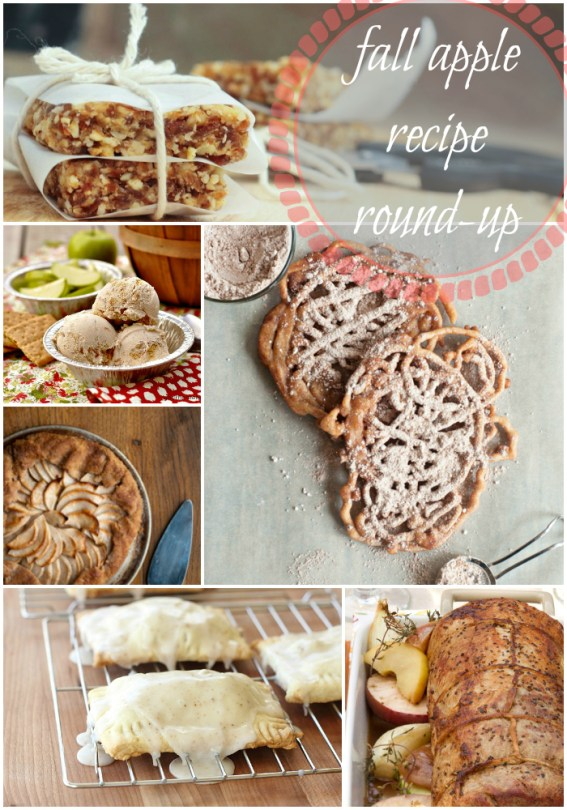 Fall Apple Recipe roundup
