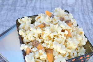 Scarcrow Munch - White chocolate popcorn with caramel candy corn
