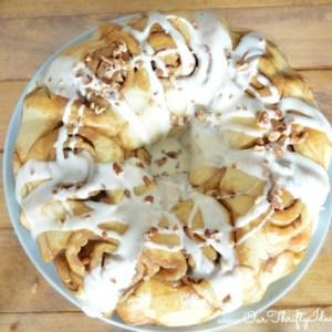 {Recipe} Homemade Gooey Cinnamon Roll Pull Apart