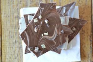 {Virtual Bake Sale} Chocolate Mint Bark