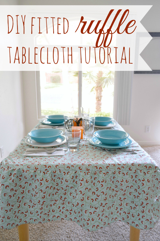 How-to-sew-a-ruffled-tablecloth