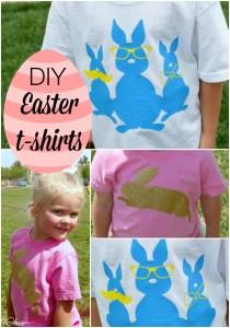 Easter Shirts – DIY tutorial