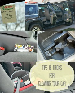 Spring Cleaning for your car – tips & tricks