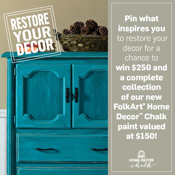 FolkArt Pinterest Contest