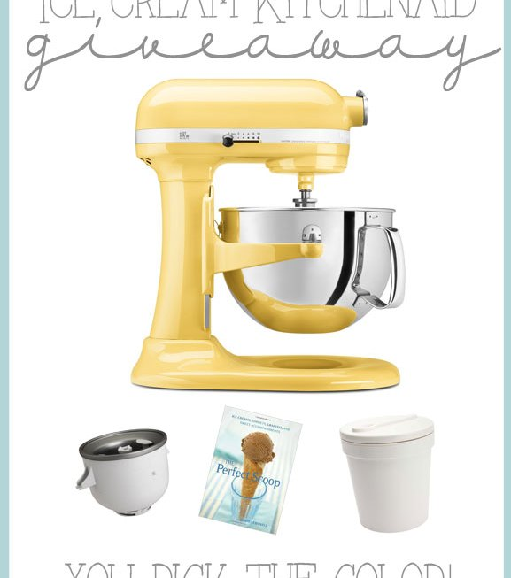 Ice Cream KitchenAid Giveaway