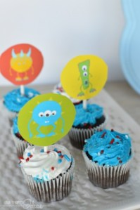 MONSTERS ONLY – printable party pack