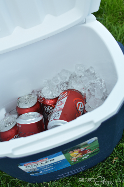 Summer BBQ with Dr Pepper