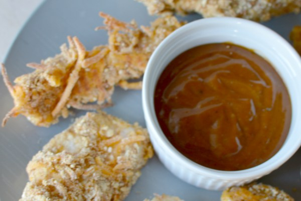 BAKED CHICKEN & CREAMY CHIPOTLE DIPPING SAUCE – Low Budget Meals