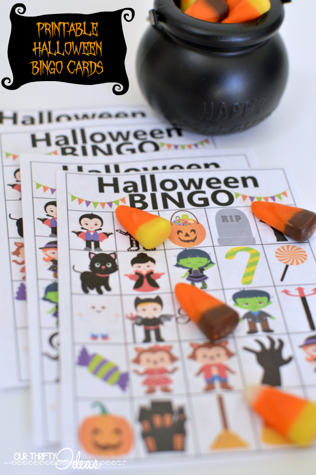 graphic relating to Printable Halloween Bingo Cards titled Halloween BINGO - absolutely free printable + Halloween Web site Hop - Our