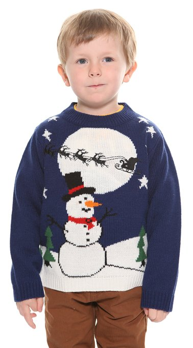 Snowman Christmas Sweater