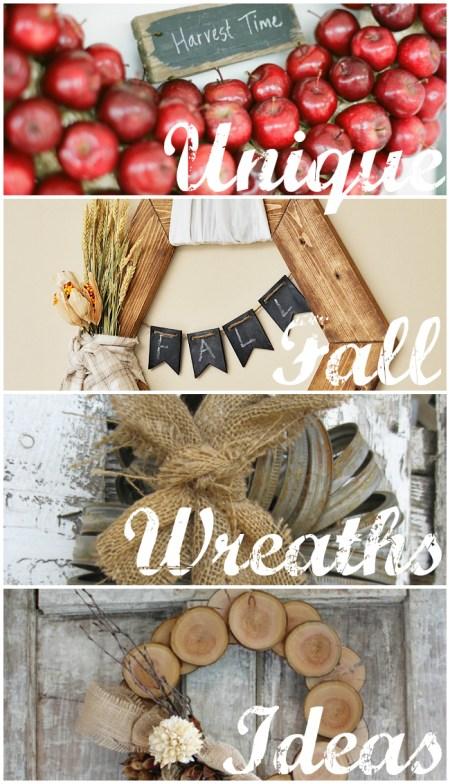 unique fall wreath ideas