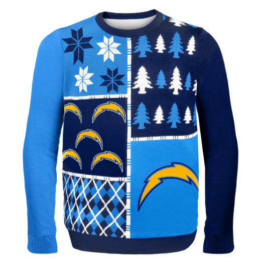 Chargers Ugly Christmas Sweater