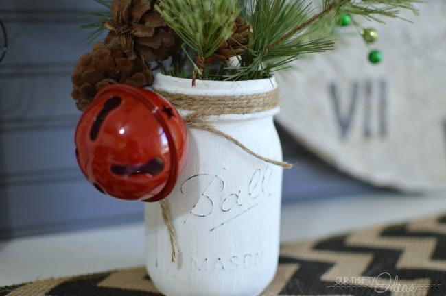 DIY – Faux Spring Christmas Tree + Mason Jar Decor