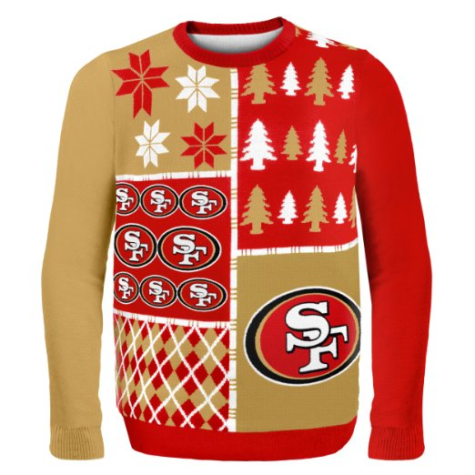 SF 49ers Ugly Christmas Sweater