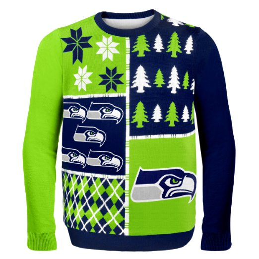 Seahawks Ugly Christmas Sweater